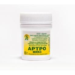 Гранулы гомеопатические «Артро-микс»10гр.
