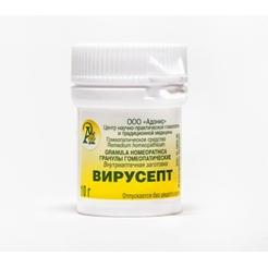 Гранулы гомеопатические «Вирусепт»10гр.